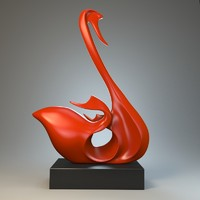 sculpture swan max