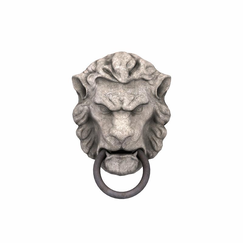 lion head door knocke 01.jpg