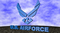 3d model u s airforce