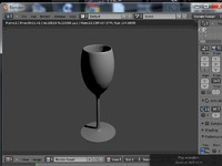 3ds wine glass