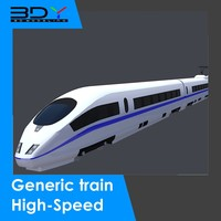 ice 3 train 3d dxf