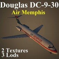 douglas mhs 3d model