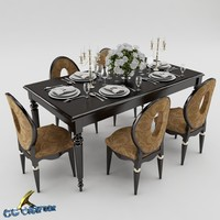 dining table set obj