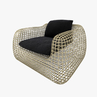 max wicker armchair