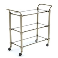 3d food service trolley