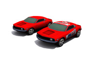 3d model car - set
