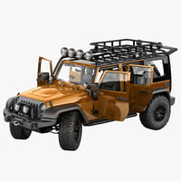 3d max jeep wrangler moab expedition