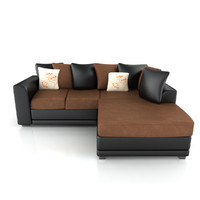 maya leather fabric sofa