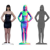 3d scan female woman