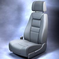 Car Seat OBJ