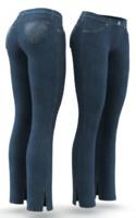 3d model jeans cloth simulations