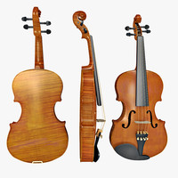 3d 3ds violin
