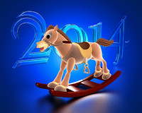 3ds max animation horse