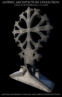3d model gothic cross peterborough