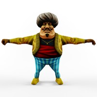 Sunbul Cartoon Character