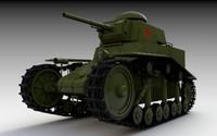 maya t-18 light tank