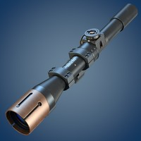 c4d enfield 32 mk sniper scope