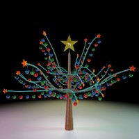 christmas tree 3d 3ds