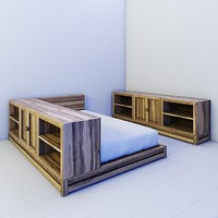 3d model children bed