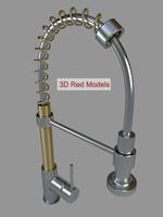 modern faucet 3d obj
