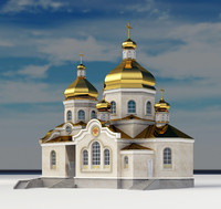 3d orthodox church