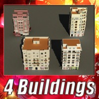 3d model of building 37-40 collections