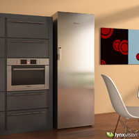 Bosch Upright Fridge