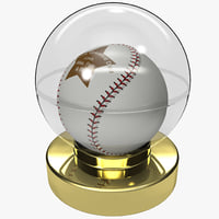 gift dad baseball ball 3d 3ds