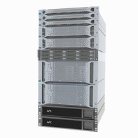 hp servers proliant cluster x