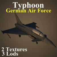 3ds max eurofighter typhoon gaf
