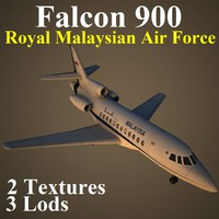 dassault falcon 900 rmf max