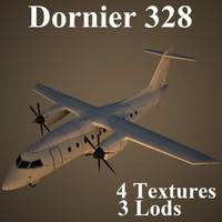 3d model dornier 328