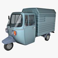 Auto rickshaw - Delivery van