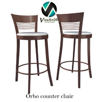 Orbo Bar Stool Chair