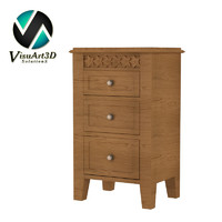 chest drawer furniture 3d model