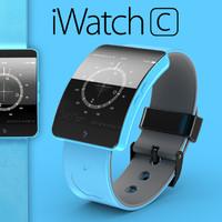 3d iwatch c model
