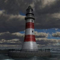 lwo lighthouse scene lightve