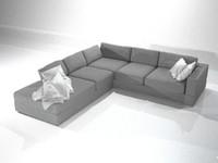 3d model of sofa cerano