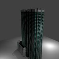 3d model of spire denver