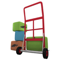 luggage trolley max