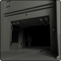sci fi heavy door01