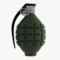 maya cartoon grenade toon