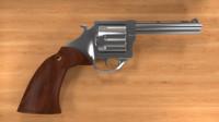 classic gun 3d dxf