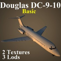 3d model of douglas basic