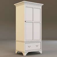 3d model laura ashley cabinet