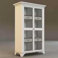 3d laura ashley cabinet model