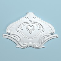 peterhof cartouche 1 3d model