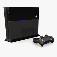 3d sony playstation 4 gaming