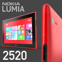Nokia Lumia 2520 HIGH DETAIL