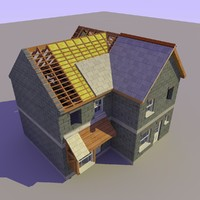 3d model house construction version